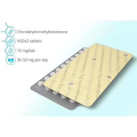 Turinabol 10mg - 50 pills