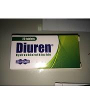 Diuren (Dyazide) 25mg  - 20 Tablets
