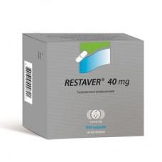 Restaver (Testosterone Undecanoate)  40mg - 20 Pills