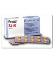 Femara (10Tabs x 2.5mg letrozole)