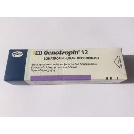 Genotropin  36 iu (12mg) x 2 Pens